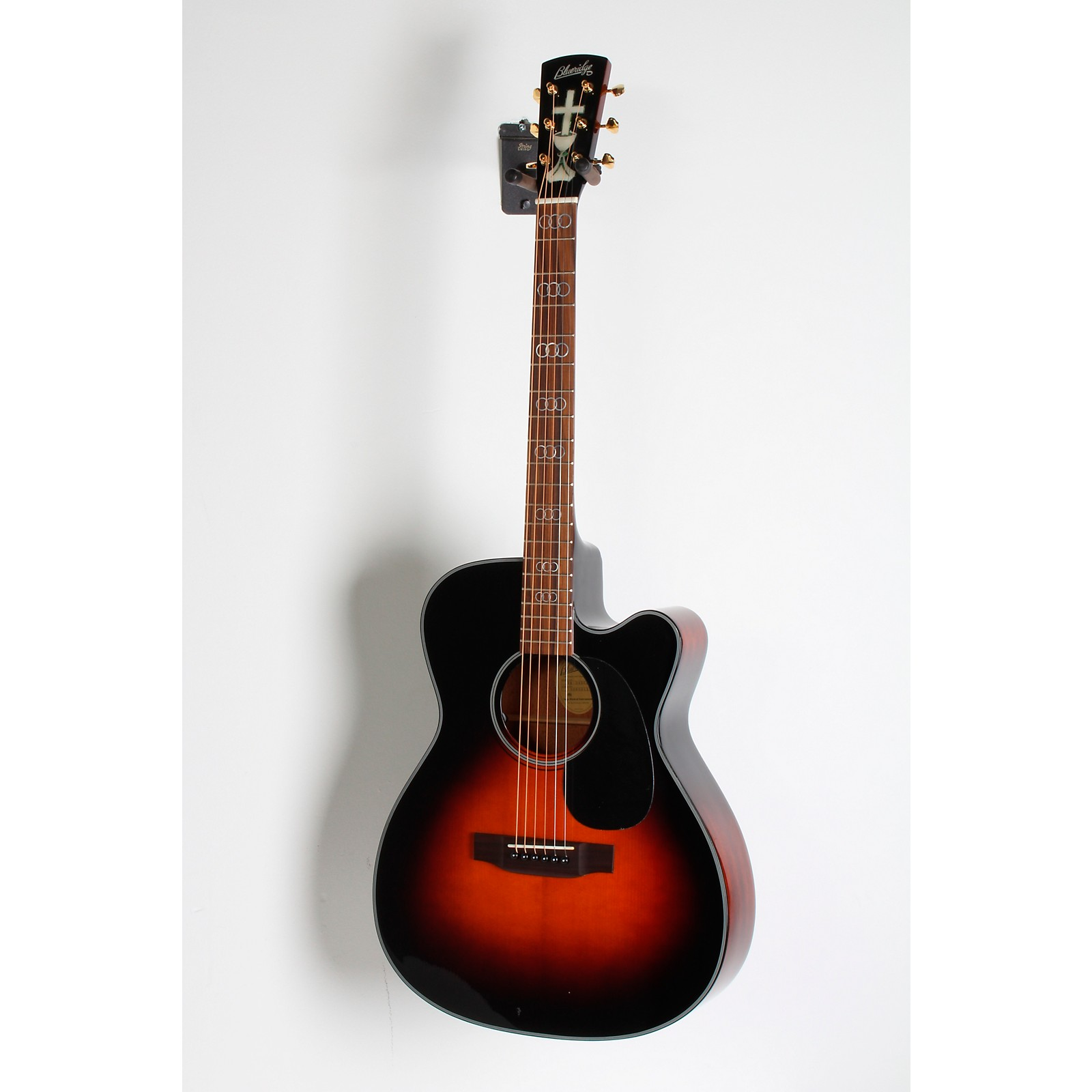 Open Box Blueridge Contemporary Series BR-343CE 000 Cutaway Acoustic-Electric Guitar (Gospel Model)