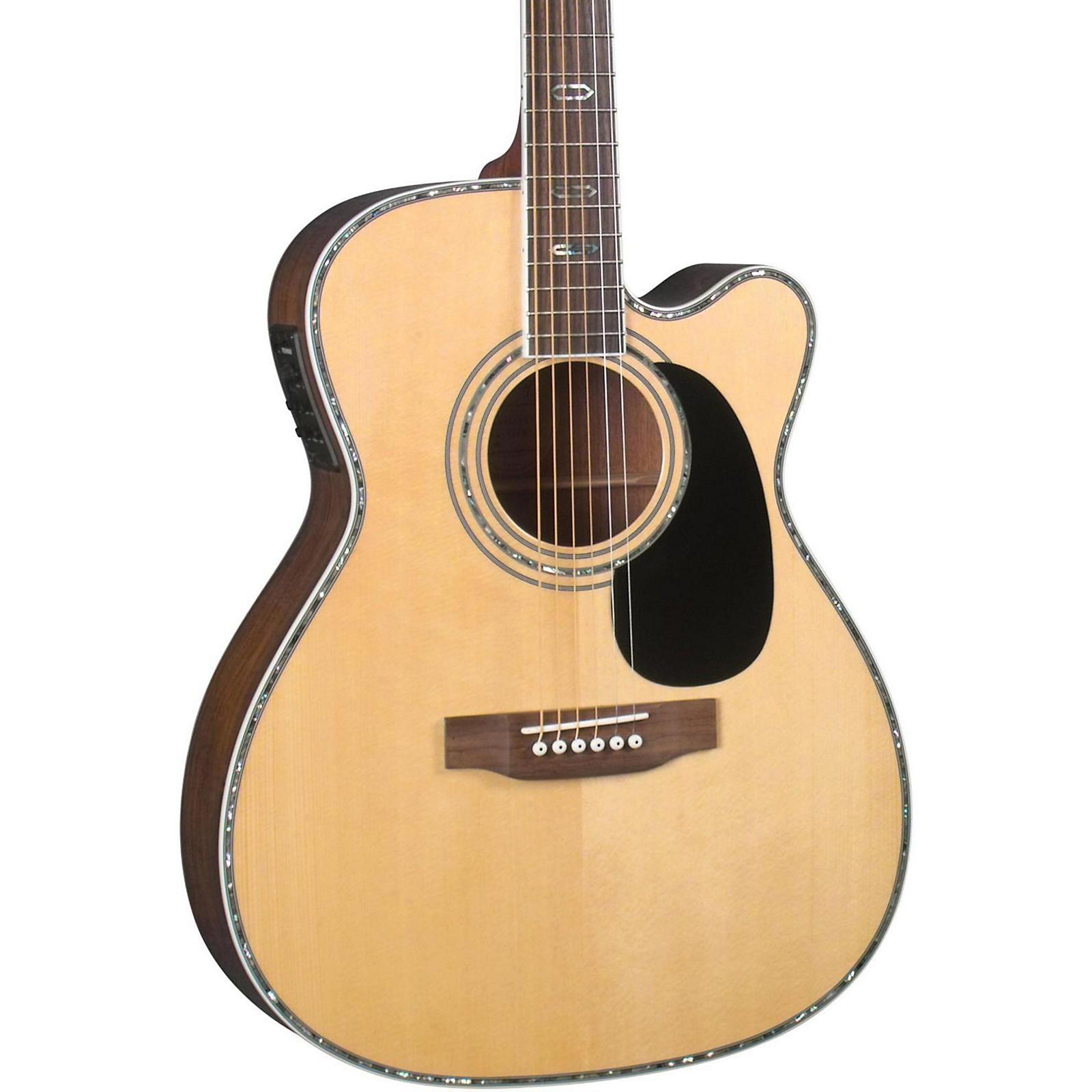 Open Box Blueridge Contemporary Series BR-73CE Cutaway 000 Acoustic-Electric Guitar