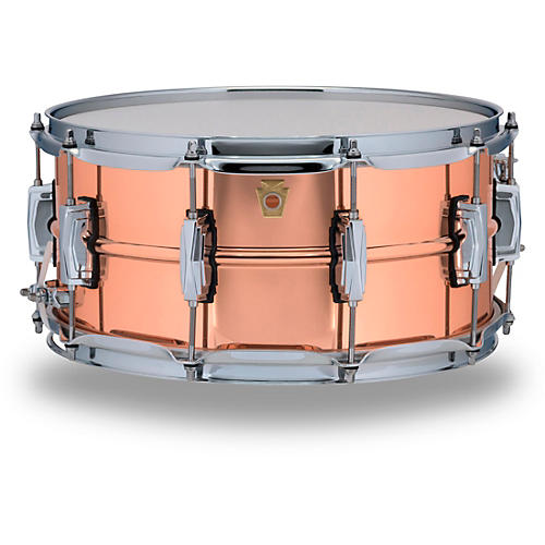 Open Box Ludwig Copper Phonic Smooth Snare Drum