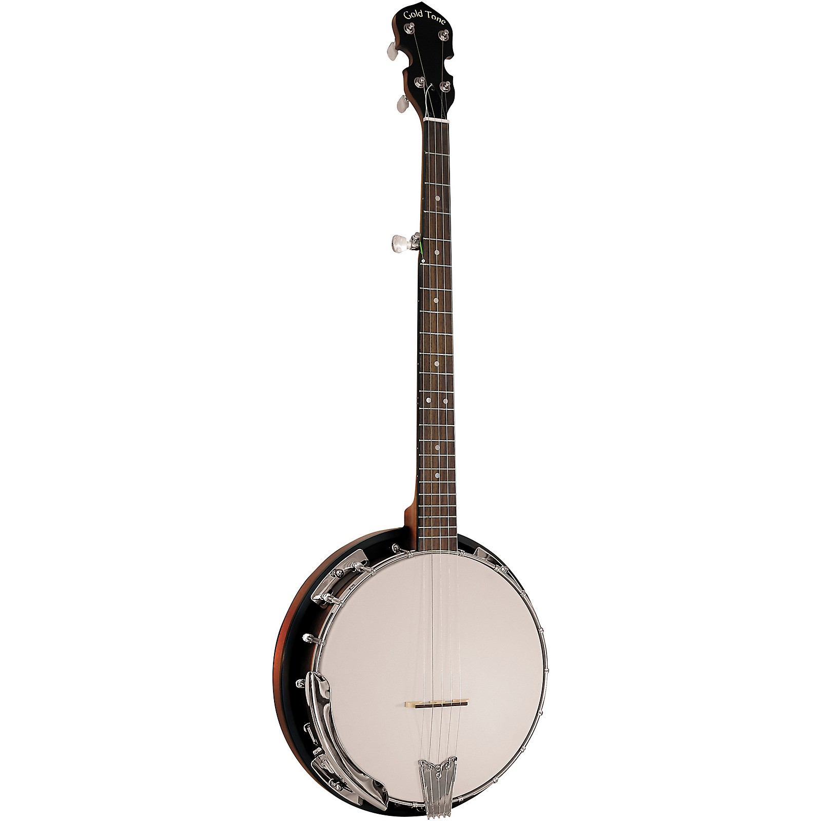 Open Box Gold Tone Cripple Creek CC-50RP/L Left-Handed Resonator Banjo With Planetary Tuners and Gig Bag