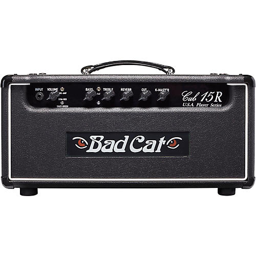 Open Box Bad Cat Cub 15R USA Player Series 15W Tube Guitar Amp Head