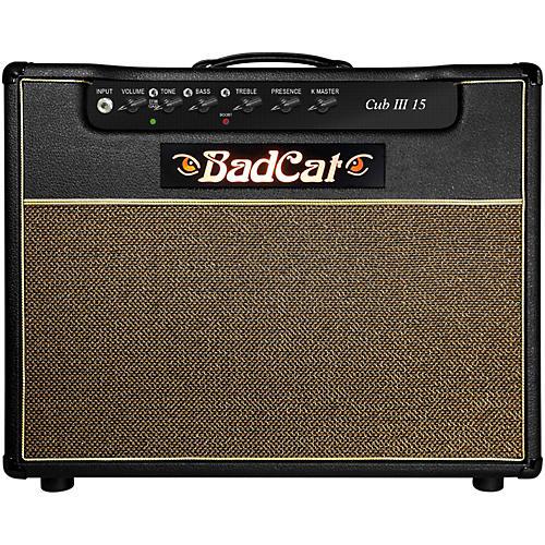 Open Box Bad Cat Cub III 15w 1x12 Guitar Combo Amp