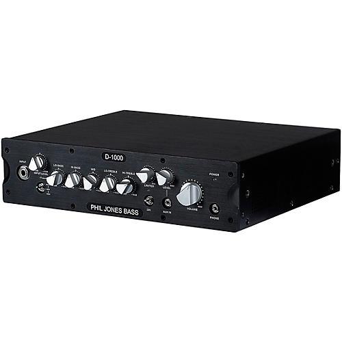 Open Box Phil Jones Bass D-1000 1,000W Bass Amplifier Head