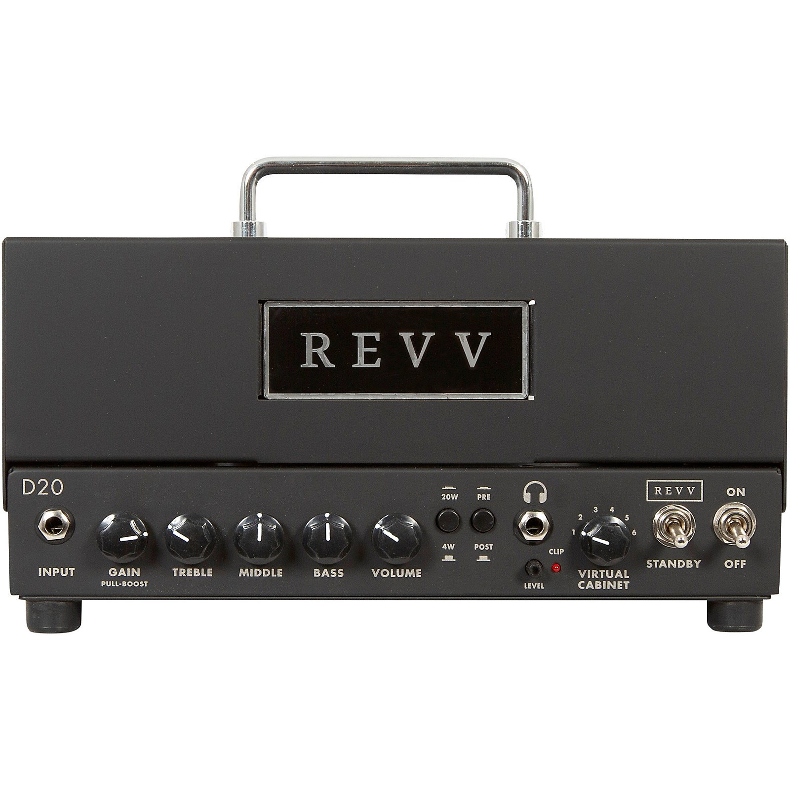 Open Box Revv Amplification D20 20W Tube Guitar Amp Head