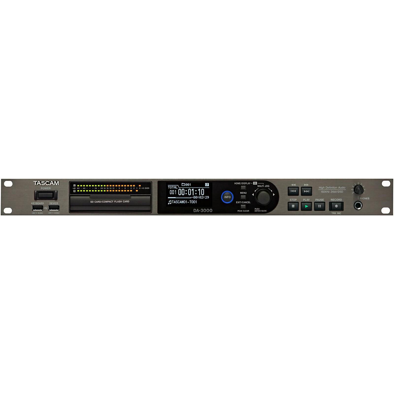 Open Box Tascam DA-3000 Master Recorder/ADDA Converter
