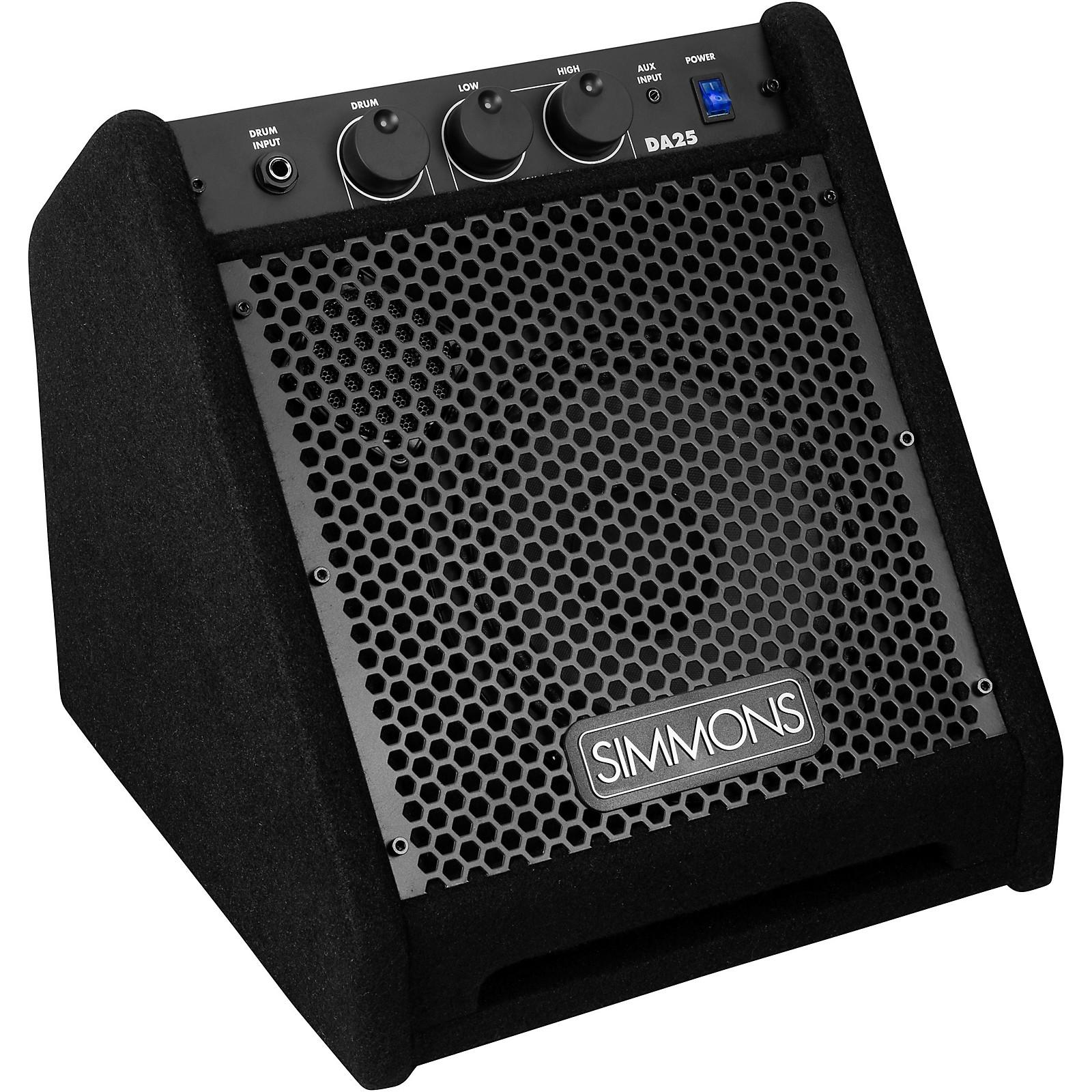 Open Box Simmons DA25 Electronic Drum Set Monitor