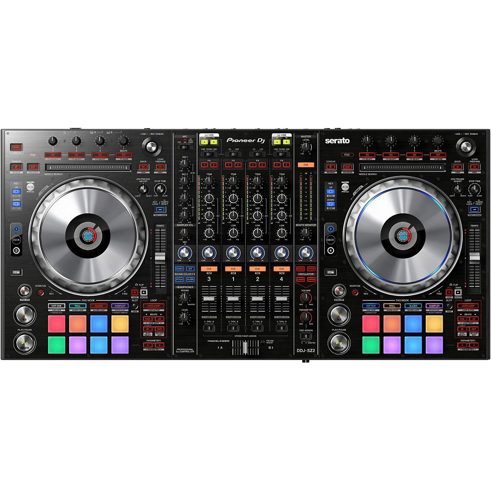 Open Box Pioneer DDJ-SZ2 Professional DJ Controller with Serato DJ