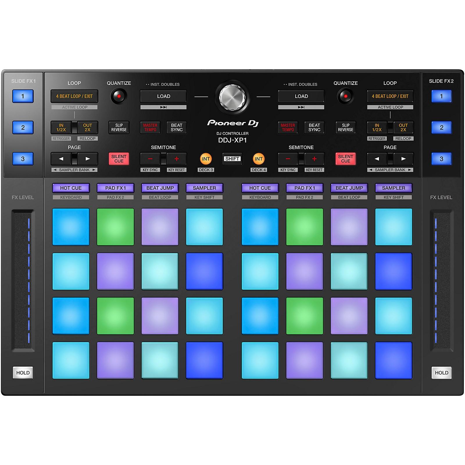Open Box Pioneer DDJ-XP1 DJ Controller for rekordbox dj and dvs