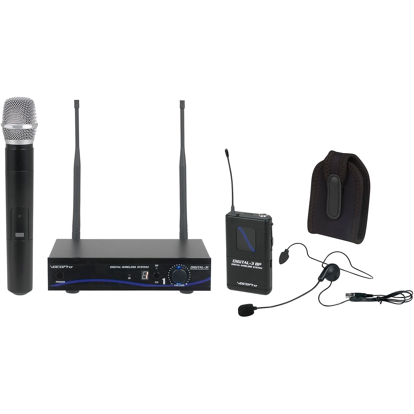 Open Box VocoPro DIGITAL-31-ULTRA Wireless System, Single-Channel