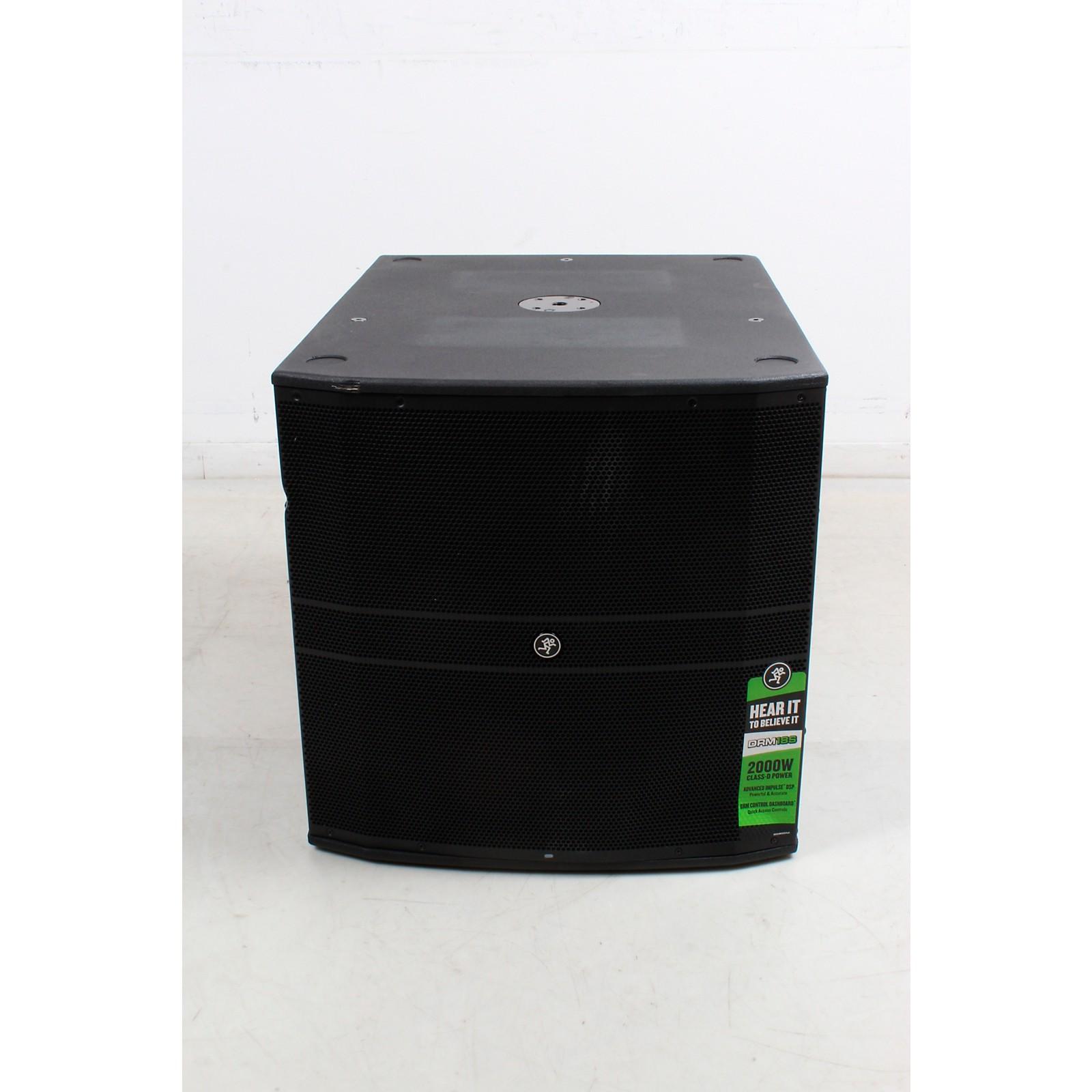 Open Box Mackie DRM-18S 2,000W 18