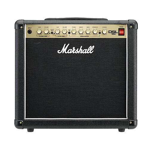 Open Box Marshall DSL15C 15W All-Tube 1x12 Guitar Combo Amp