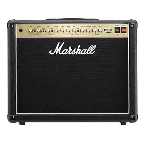 Open Box Marshall DSL40C 40W 1x12 Tube Guitar Combo Amp