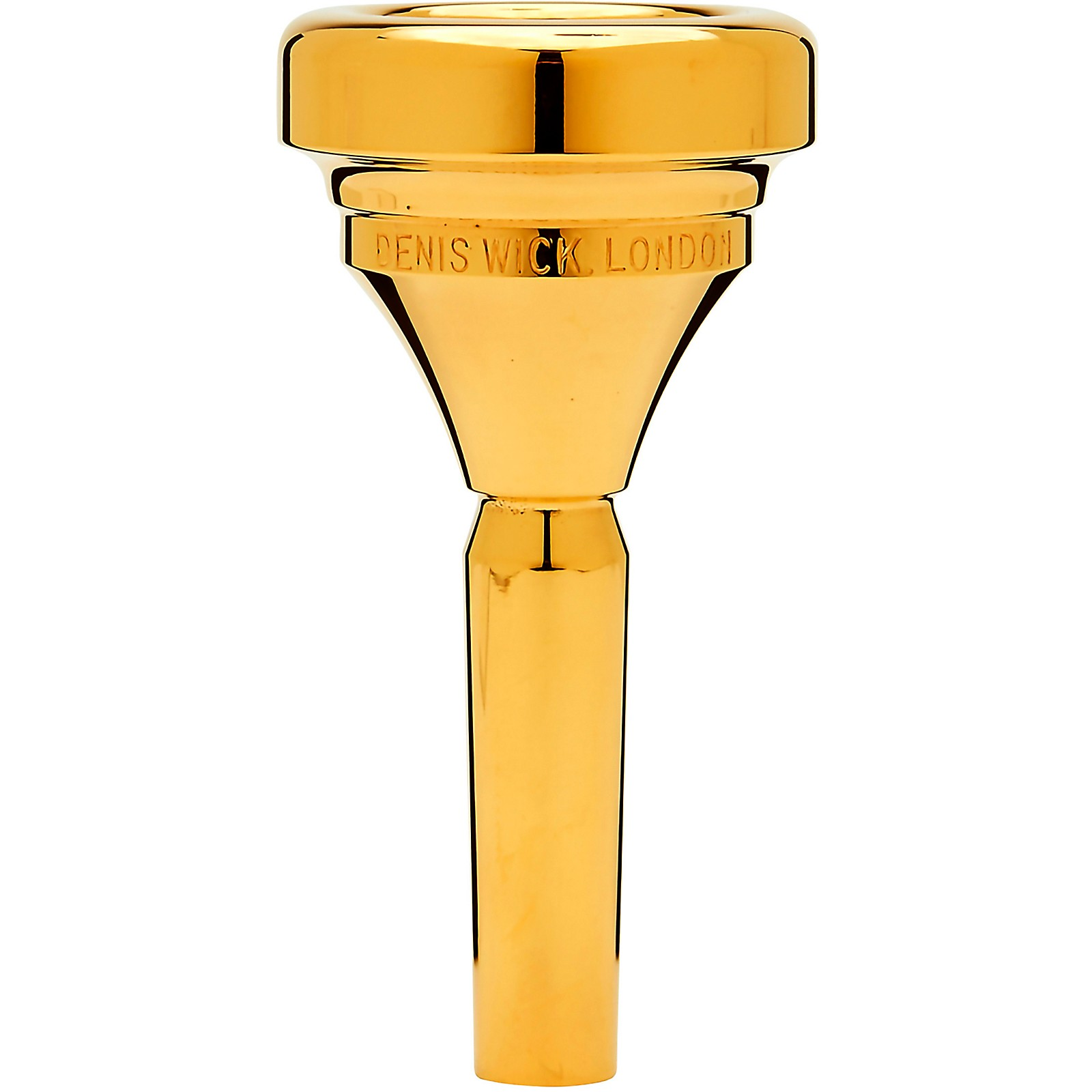 Open Box Denis Wick DW4286 Classic Series Tuba Mouthpiece in Gold