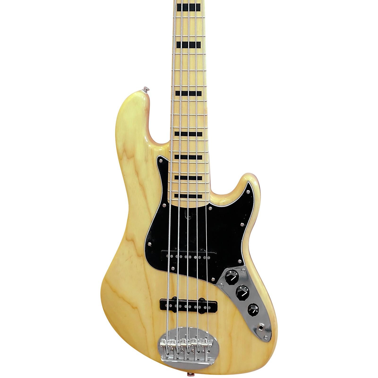 Open Box Lakland Darryl Jones Signature Model 5-String Maple Fretboard Electric Bass Guitar