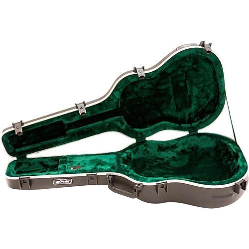 Open Box SKB Deep Roundback-Shaped Hardshell Acoustic Guitar Case