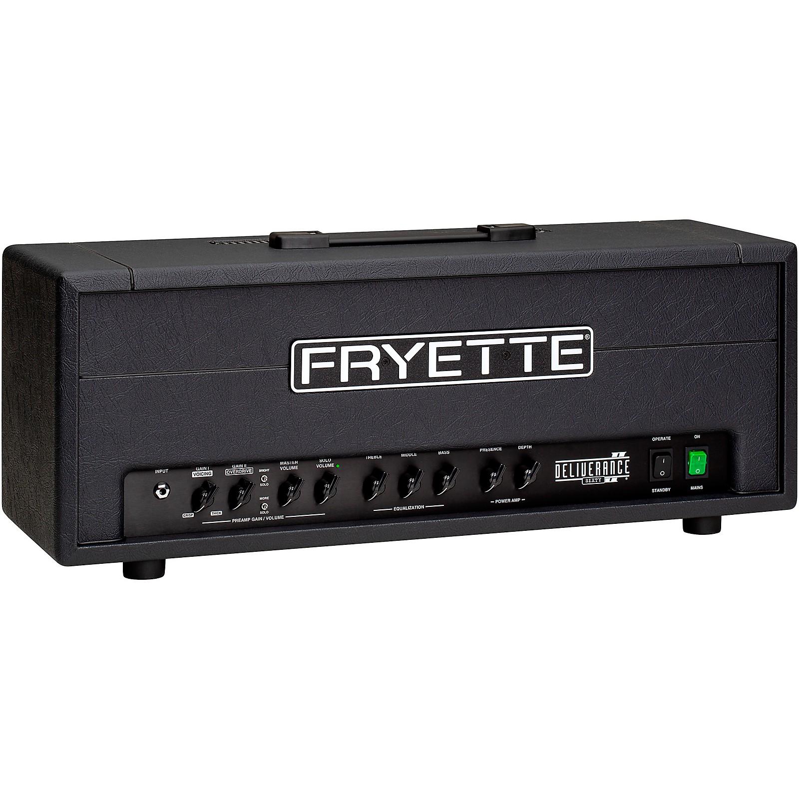 Open Box Fryette Deliverance Sixty D60 Series II 60W Tube Guitar Amp Head