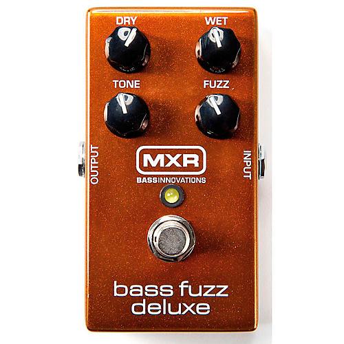 Open Box MXR Deluxe Bass Fuzz Effects Pedal