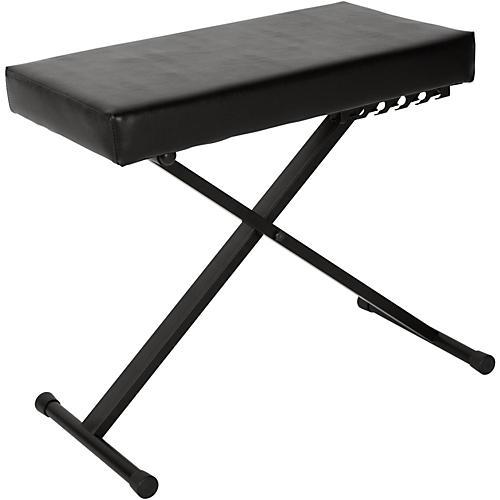 Open Box Musician's Gear KS-515-MG Deluxe Keyboard Bench