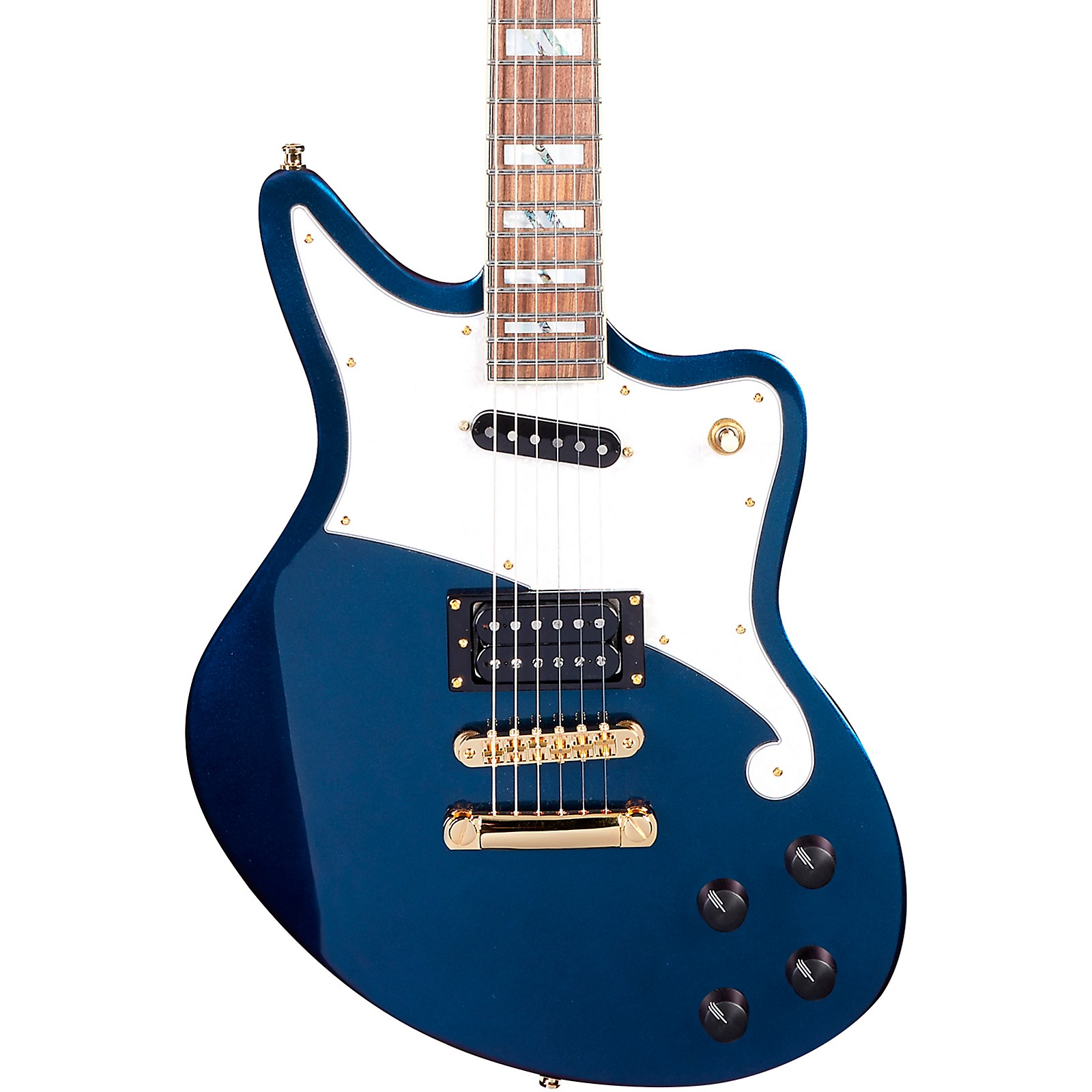 Open Box D'Angelico Deluxe Series Bedford Electric Guitar with Stopbar Tailpiece