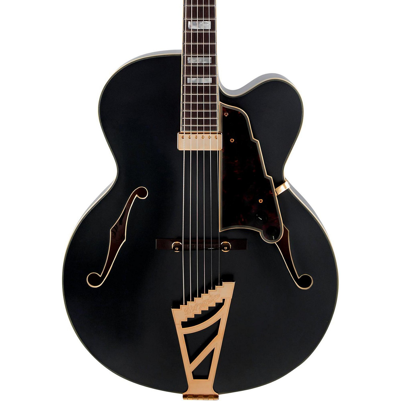 Open Box D'Angelico Deluxe Series EXL-1 Hollowbody Electric Guitar with Seymour Duncan Floating Pickup and Stairstep Tailpiece