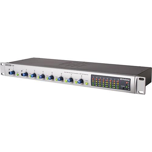 Open Box PreSonus DigiMax D8 8-Channel Preamplifier