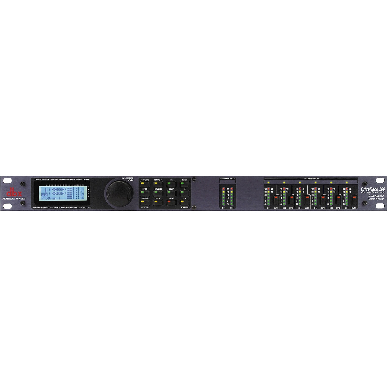 Open Box dbx DriveRack 260 Complete Equalization and Loudspeaker Control System