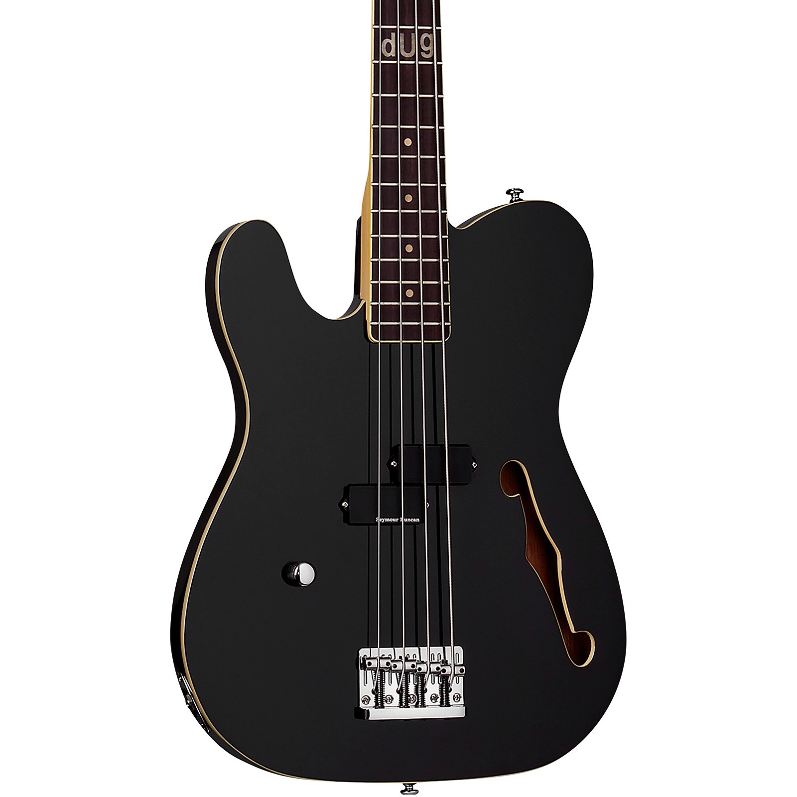 Open Box Schecter Guitar Research Dug Pinnick Signature BARON-H Left Handed Electric Bass