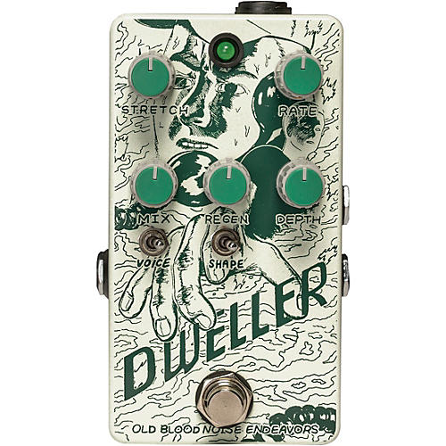 Open Box Old Blood Noise Endeavors Dweller Phase Repeater Effects Pedal