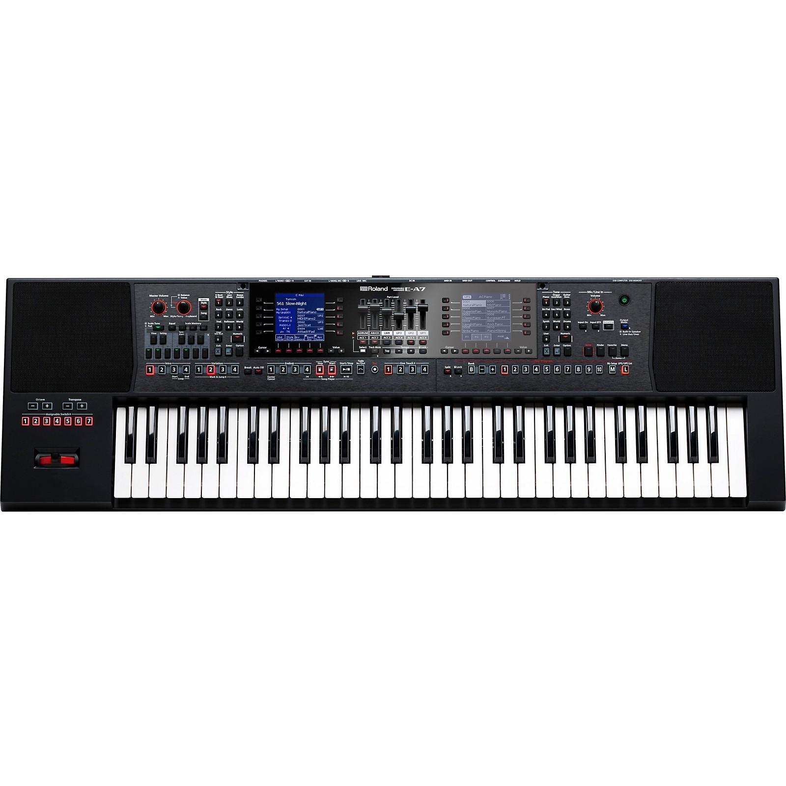 Open Box Roland E-A7 Arranger Keyboard