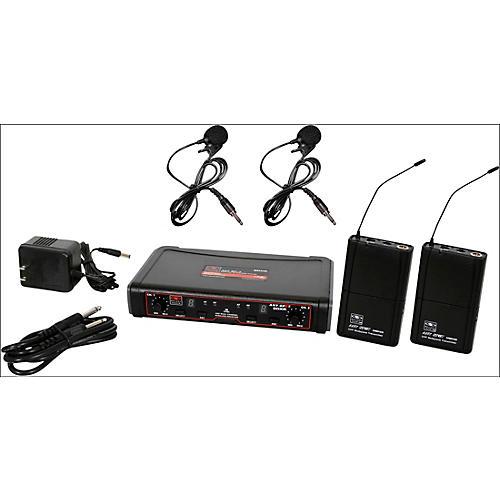 Open Box Galaxy Audio EDXR/38VV Dual-Channel Wireless Lavalier System