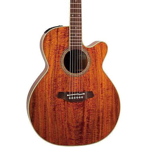 Open Box Takamine EF508KC NEX Legacy Series All Koa Acoustic-Electric Guitar