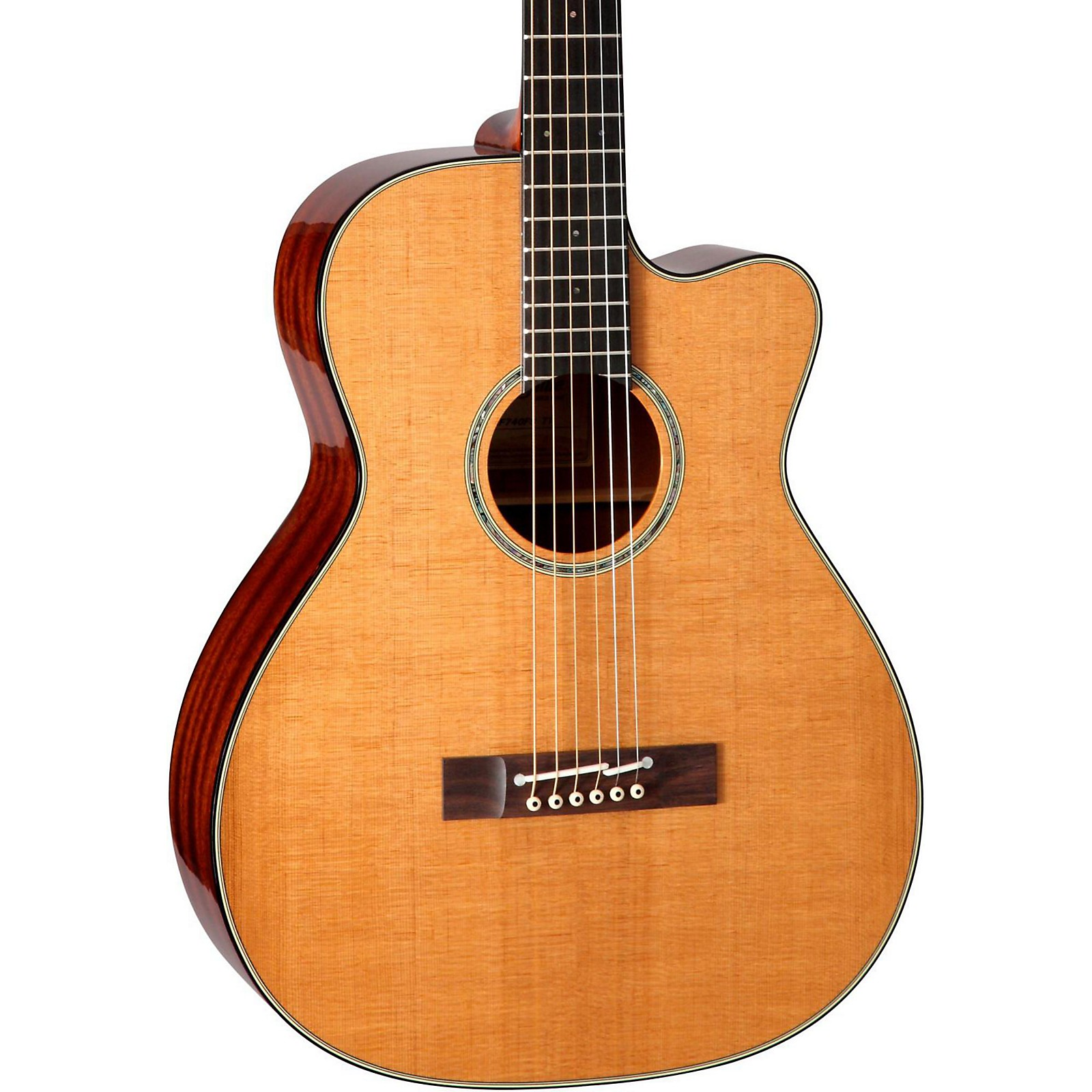 Open Box Takamine EF740FS Thermal Top Acoustic Guitar