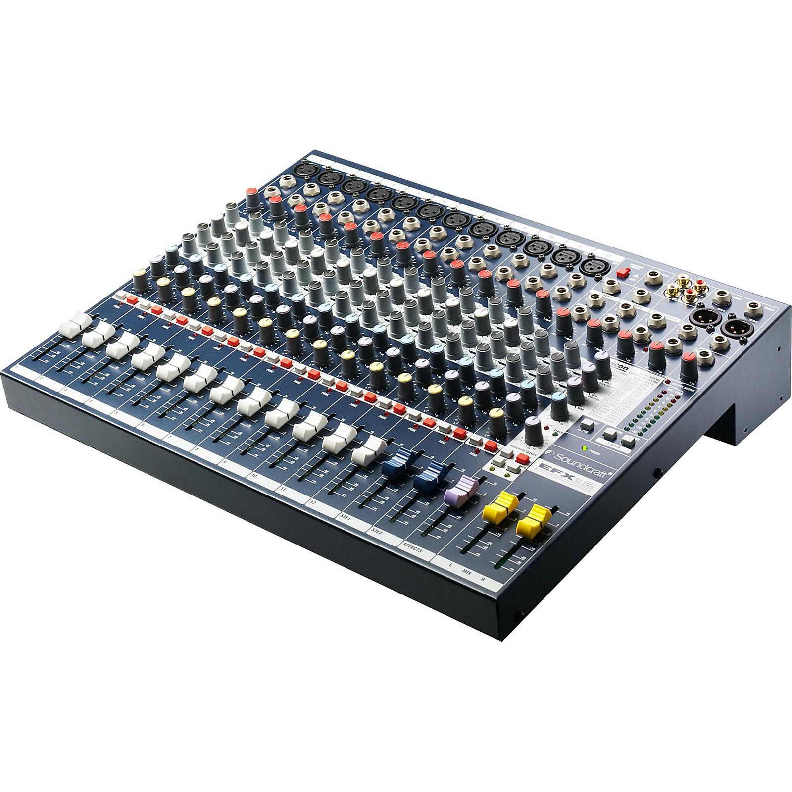 Open Box Soundcraft EFX 12-Channel Mixer