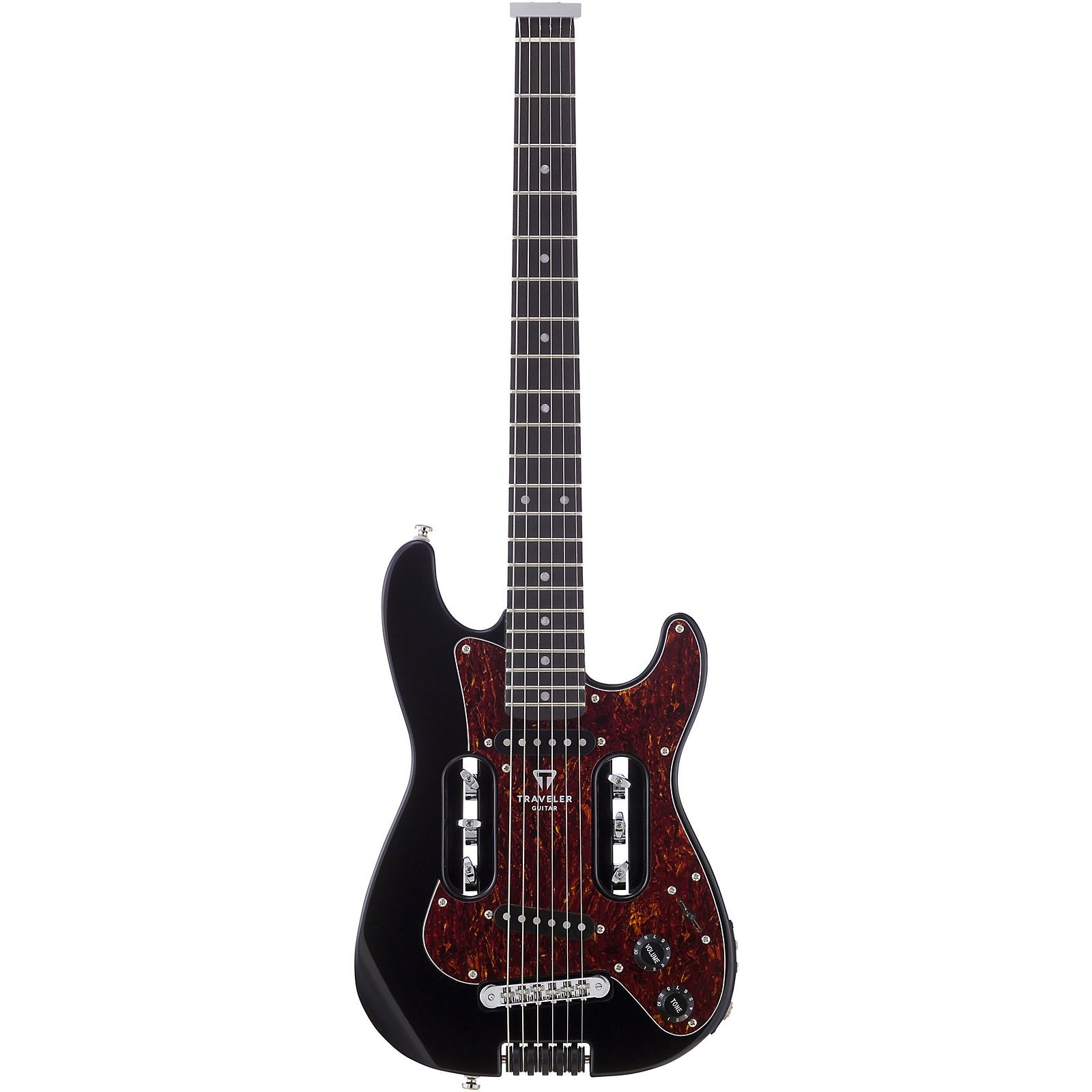 Open Box Traveler Guitar EG-2 Standard Electric Travel Guitar with Deluxe Gig Bag