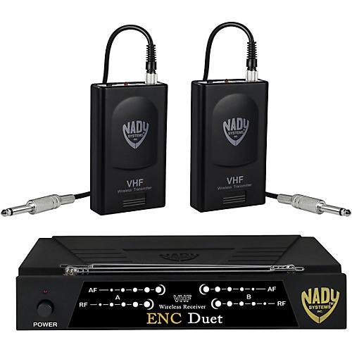 Open Box Nady ENC Duet Dual Wireless Instrument System