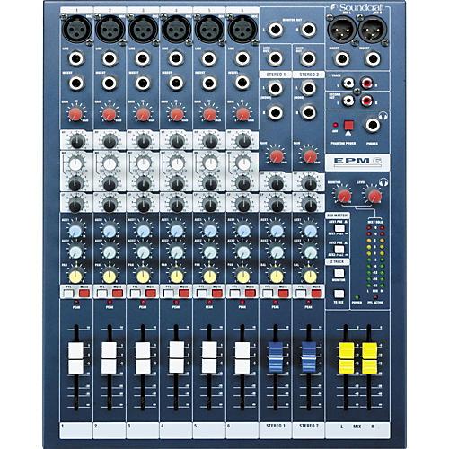 Open Box Soundcraft EPM6 6-Channel Multi-Format Mixer