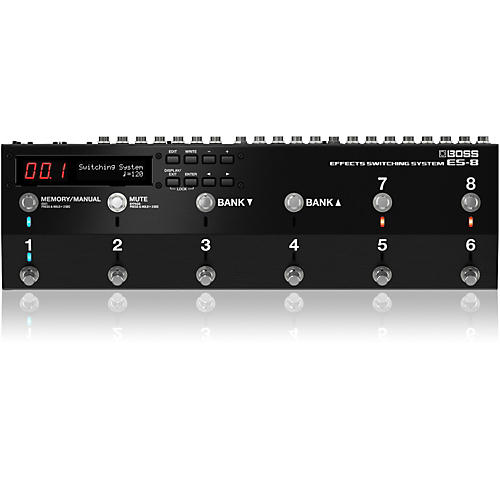 Open Box Boss ES-8 Effects Switching System