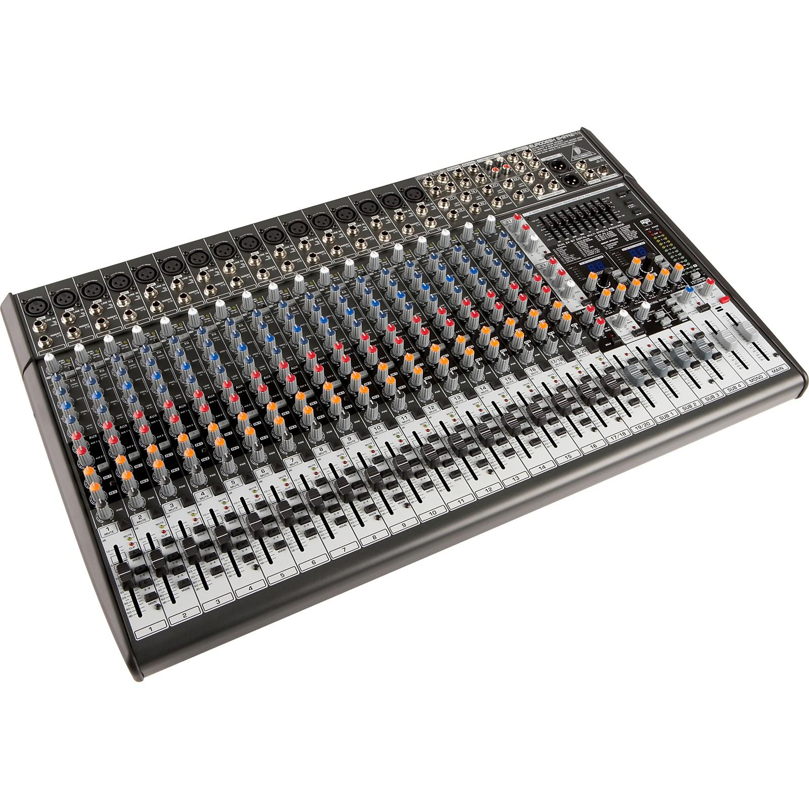 Open Box Behringer EURODESK SX2442FX Mixer