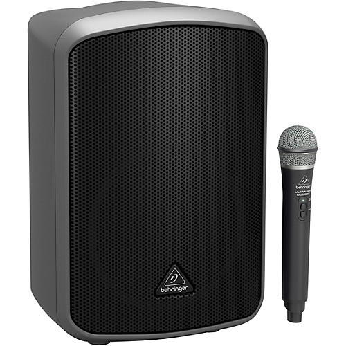 Open Box Behringer EUROPORT MPA200BT Portable Bluetooth Wireless Rechargeable 8 in. Speaker with Microphone