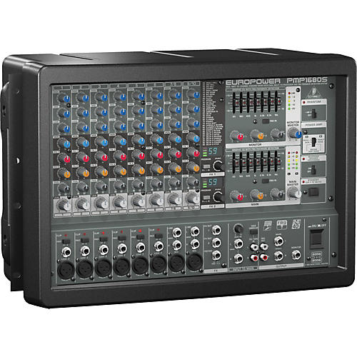 Open Box Behringer EUROPOWER PMP1680S 10-Channel Powered Mixer