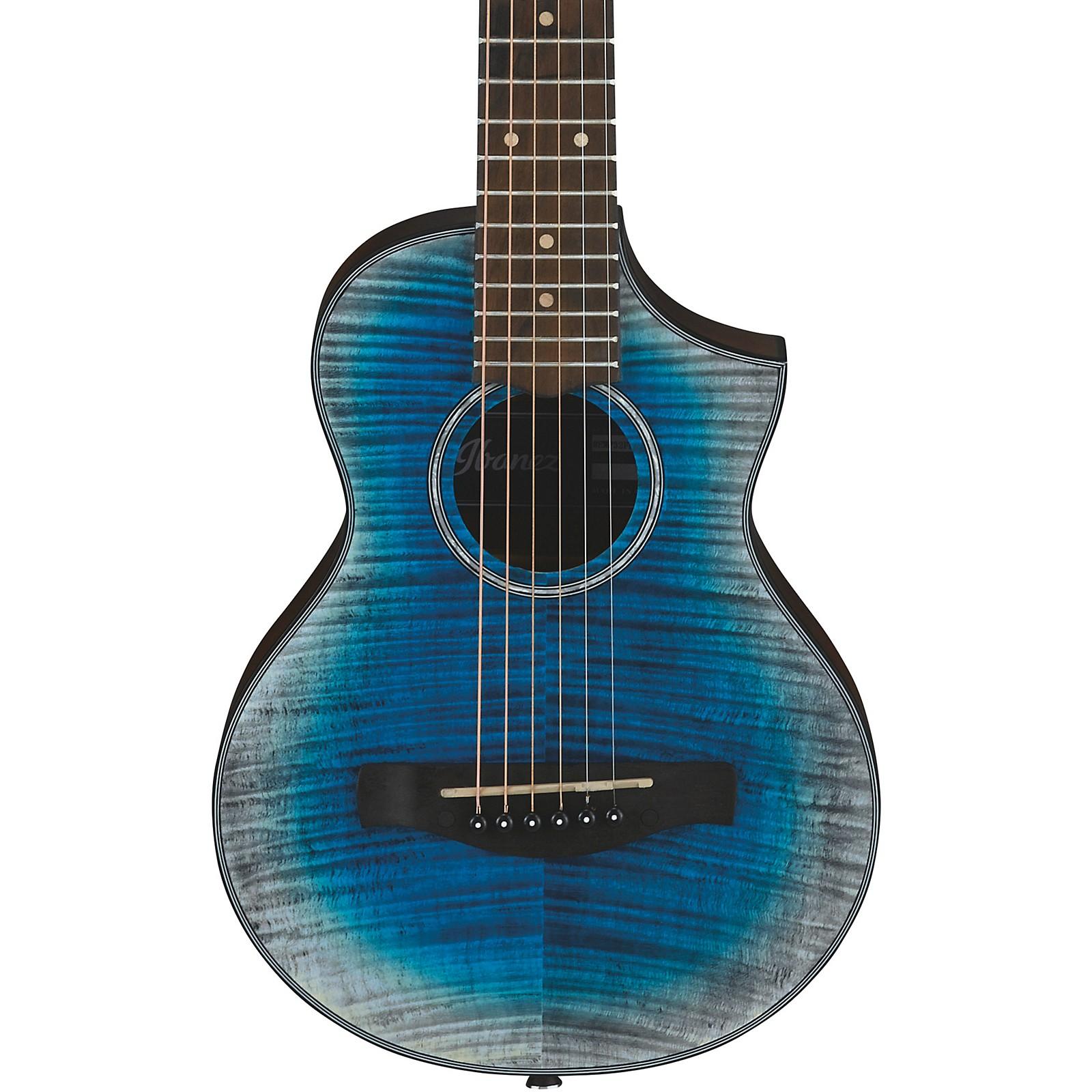 Open Box Ibanez EWP32FM Piccolo Acoustic Guitar