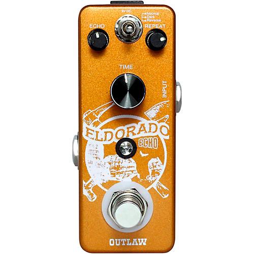 Open Box Outlaw Effects Eldorado 3-Mode Echo Effects Pedal