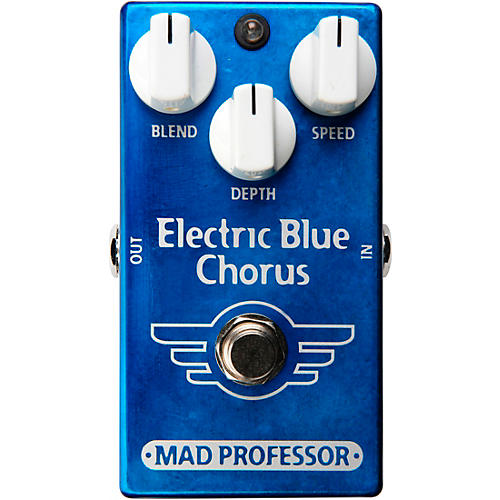 Open Box Mad Professor Electric Blue Chorus Effects Pedal