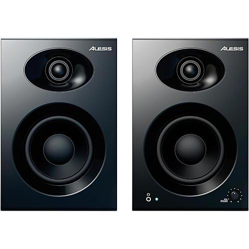 Open Box Alesis Elevate 4 MKII Powered Desktop Studio Speakers