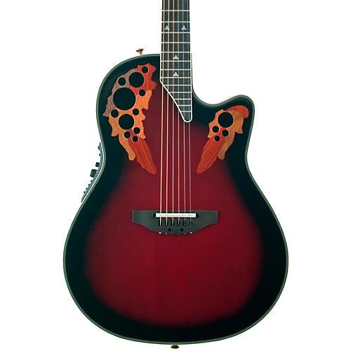 Open Box Ovation Elite 2078 AX Deep Contour Acoustic-Electric Guitar