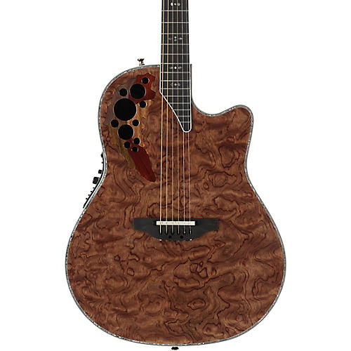 Open Box Ovation Elite Plus C2078AXP-EB Waterfall Bubinga Acoustic-Electric Guitar