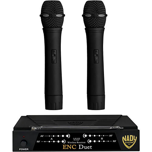Open Box Nady ENC Duet Dual Wireless Handheld System