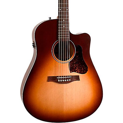 Open Box Seagull Entourage Autumn Burst CW QIT Acoustic-Electric Guitar