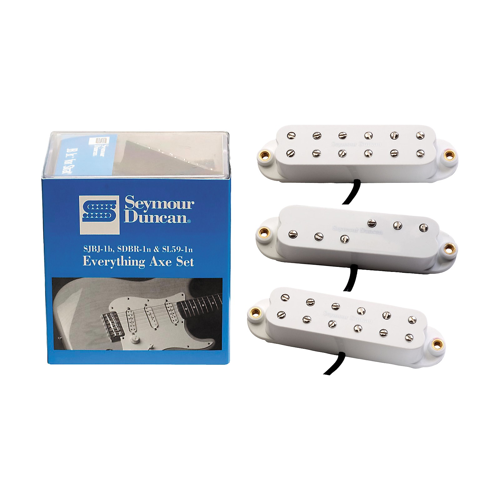 Open Box Seymour Duncan Everything Axe Single-Coil Electric Guitar Pickup Set