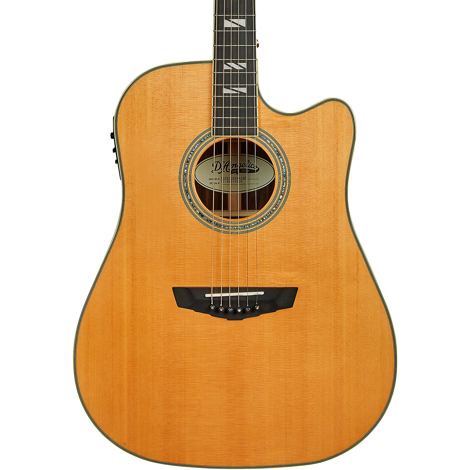 Open Box D'Angelico Excel Bowery Dreadnought Acoustic-Electric Guitar
